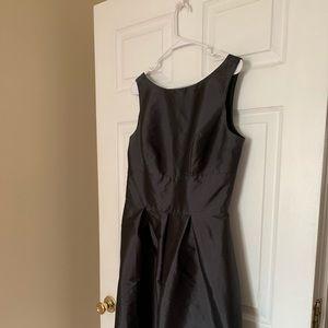 Metal Gray Alfred Sung Dress